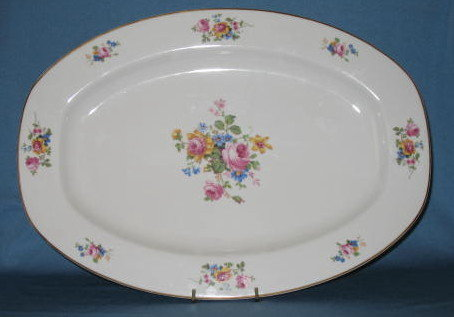T K Thun Bohemia THU 166 large platter