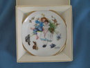 Norman Rockwell Four Seasons Miniature Plate #529: Sweet Song So Young