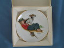 Norman Rockwell Four Seasons Miniature Plate #544: Adventurers Between Adventures