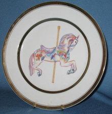 Willitt's 1987 Carousel Memories collector's plate