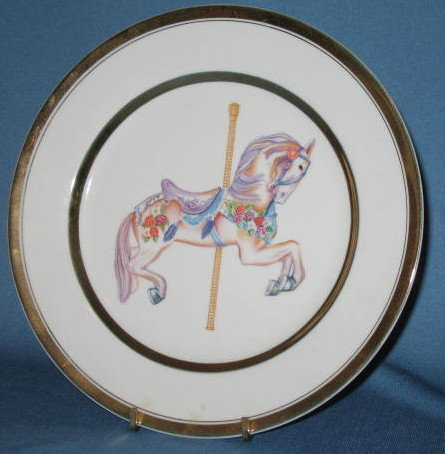 Willitt's 1987 Carousel Memories collector's plate