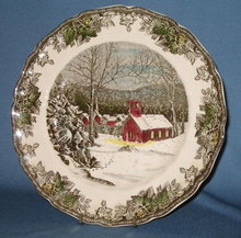 Johnson Brothers Friendly Village dinner plate