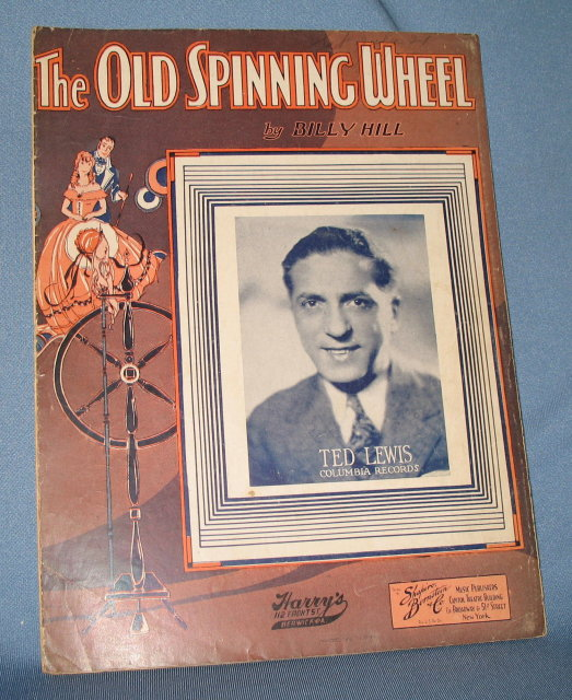 The Old Spinning Wheel sheet music