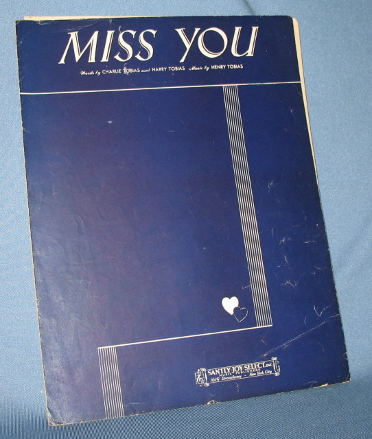 Miss You sheet music
