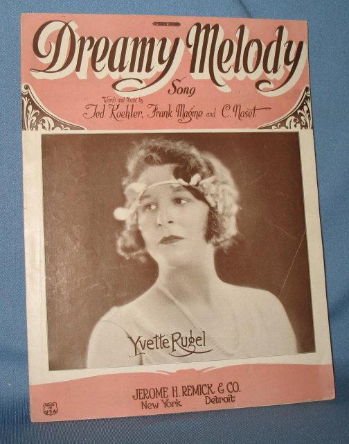 Dreamy Melody sheet music