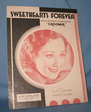 Sweethearts Forever sheet music