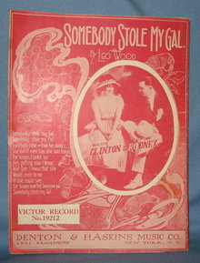 Somebody Stole My Girl sheet music