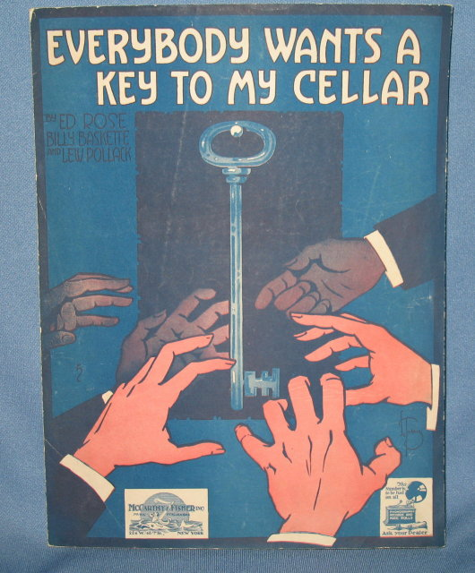 Everybody Wants a Key to My Cellar sheet music