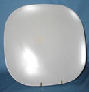 Franciscan Metropolitan gray dinner plate