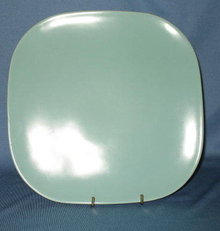 Franciscan Metropolitan turquoise dinner plate