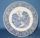 Homer Laughlin Shakespeare Country dessert/pie plate