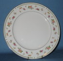 Abingdon Fine Porcelain China, Made in Japan, dinner plate