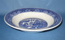 Royal China Willow Ware rimmed soup bowl