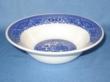 Royal China Willow Ware coupe cereal bowl