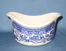 Royal China Willow Ware gravy