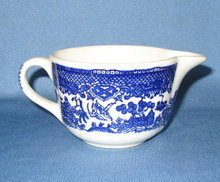Royal China Willow Ware creamer