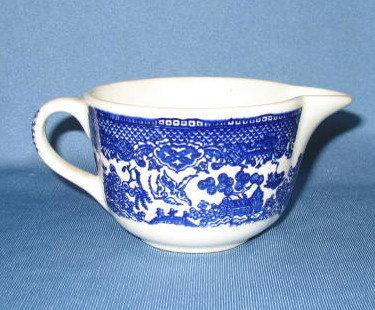 Royal China Willow Ware creamer