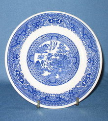 Royal China Willow Ware saucer