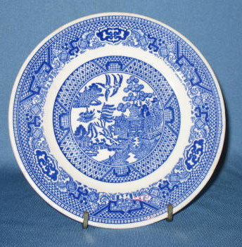 Royal China Willow Ware bread plate