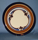 Casual Classic Stoneware 235 Midnight Sun round platter/chop plate