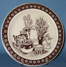 Enesco Country Kitchen bread plate