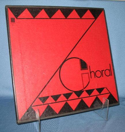 Music Festival  Zion Choral Society 33 RPM LP