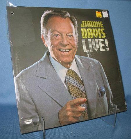 Jimmie Davis Live!  33 RPM LP