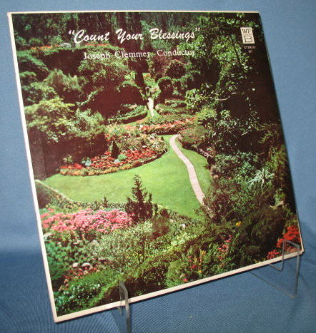 The Clemmer Band : Count Your Blessings  33 RPM LP