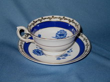Embassy Fondeville cup and saucer
