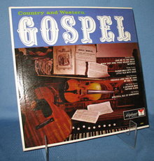 Country and Western Gospel 33 RPM LP record