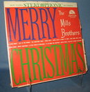 The Mills Brothers : Merry Christmas 33 RPM LP record