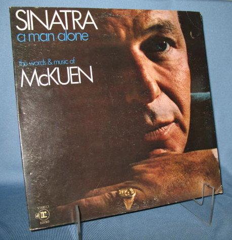 Sinatra : A Man Alone 33 RPM LP record