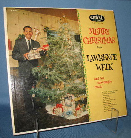 Merry Christmas from Lawrence Welk 33 RPM LP record