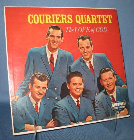 Couriers Quartet : The Love of God 33 RPM LP record