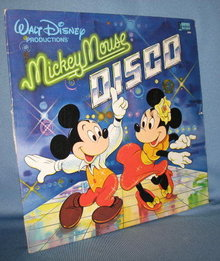 Mickey Mouse DISCO 33 RPM LP