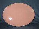 Taylor-Smith-Taylor Pebbleford Pink oval platter