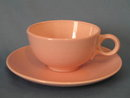 Taylor-Smith-Taylor Pebbleford Pink cup and saucer