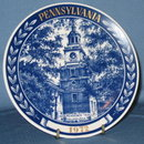 Chateau Inc. 1972 Pennsylvania collector's plate