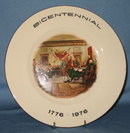 Exquisite Home Products Bicentennial Declaration of Independence collector's plate