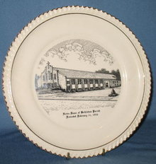 Notre Dame of Bethlehem Parish, Bethlehem PA collector's plate