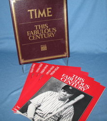 Time : This Fabulous Century : 5 books from 1920-1970