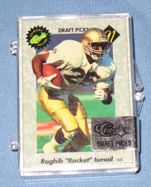 Classic Premiere Edition 1991 NFL football draft picks cards NIB