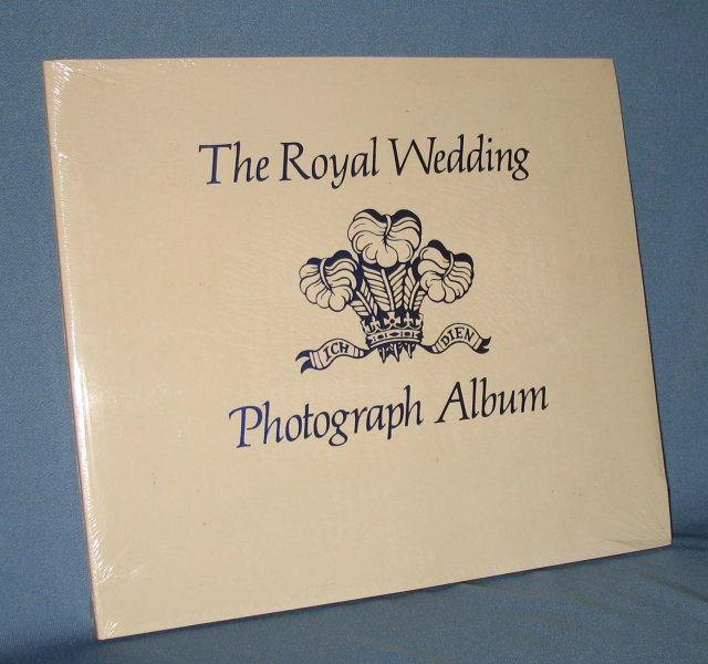 The Royal Wedding Photograph Album of Prince Charles and Lady Diana Spencer