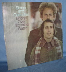 Simon and Garfunkel : Bridge Over Troubled Water 33 RPM LP record