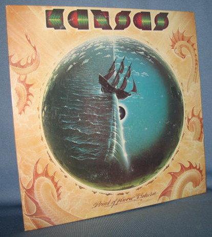 Kansas : Point of No Return 33 RPM LP record