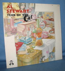 Al Stewart : Year of the Cat 33 RPM LP record