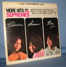 More Hits by the Supremes 33 RPM LP record