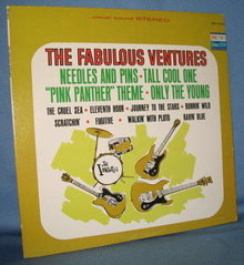 The Fabulous Ventures 33 RPM LP record