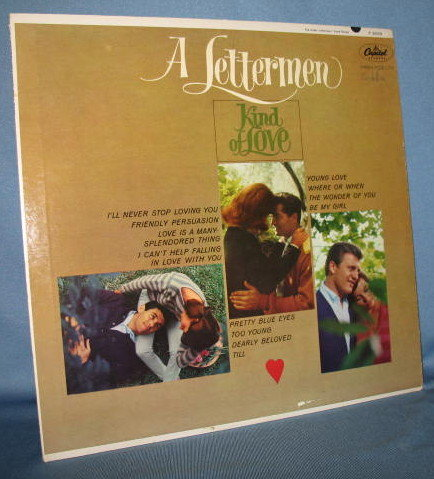 A Lettermen Kind of Love 33 RPM LP record