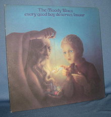 The Moody Blues Every Good Boy Deserves Favour  33 RPM LP record